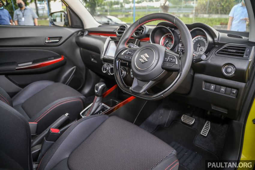 2021 Suzuki Swift Sport open for booking in Malaysia – 1.4L Boosterjet turbo, 140 PS & 230 Nm; est RM145k? Image #1274049
