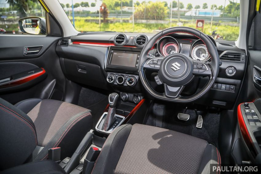 2021 Suzuki Swift Sport open for booking in Malaysia – 1.4L Boosterjet turbo, 140 PS & 230 Nm; est RM145k? Image #1274076