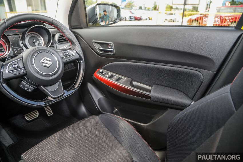 2021 Suzuki Swift Sport open for booking in Malaysia – 1.4L Boosterjet turbo, 140 PS & 230 Nm; est RM145k? Image #1274077