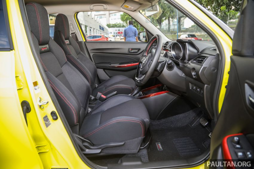 2021 Suzuki Swift Sport open for booking in Malaysia – 1.4L Boosterjet turbo, 140 PS & 230 Nm; est RM145k? Image #1274081