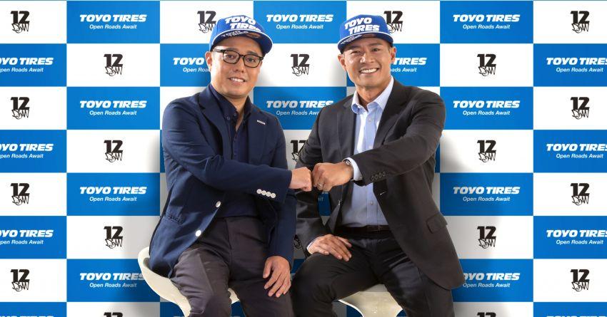 Tengku Djan dilantik sebagai duta jenama Toyo Tires Image #1279521