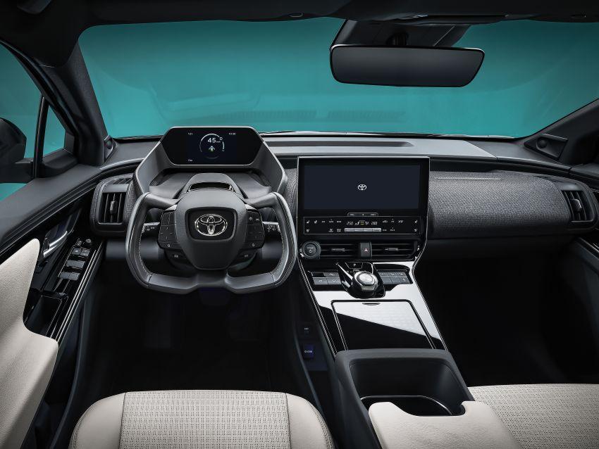 Toyota bZ4X Concept – RAV4-sized electric SUV developed with Subaru, yoke steering, coming 2022 Image #1283312
