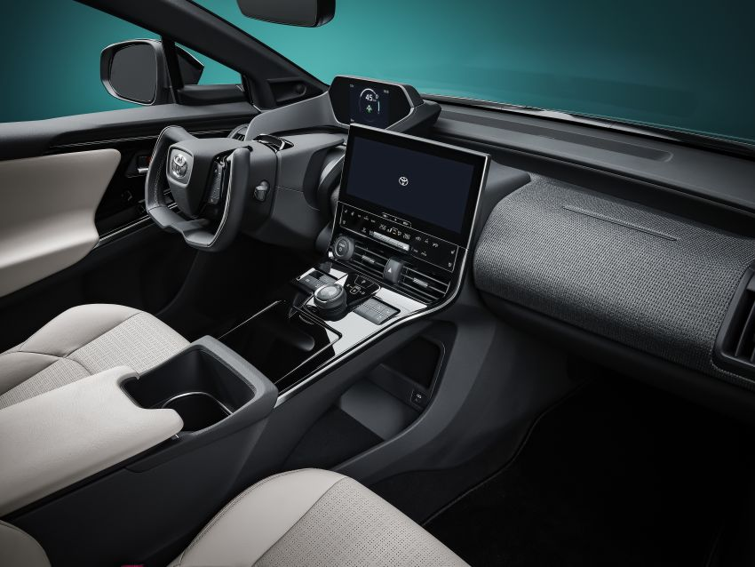 Toyota bZ4X Concept – RAV4-sized electric SUV developed with Subaru, yoke steering, coming 2022 Image #1283313