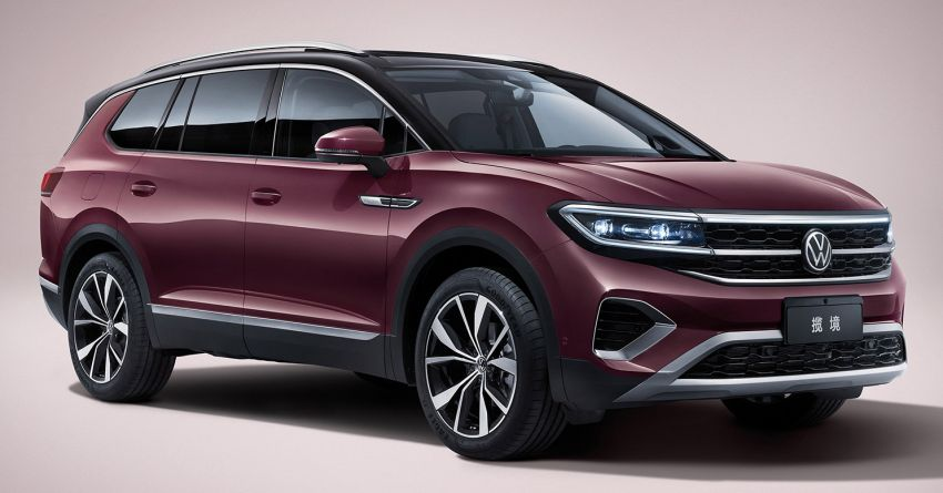 Volkswagen Talagon SUV debuts in China as the brand's largest SUV – over 5.1 metres long; 2.5T V6 Image #1285827