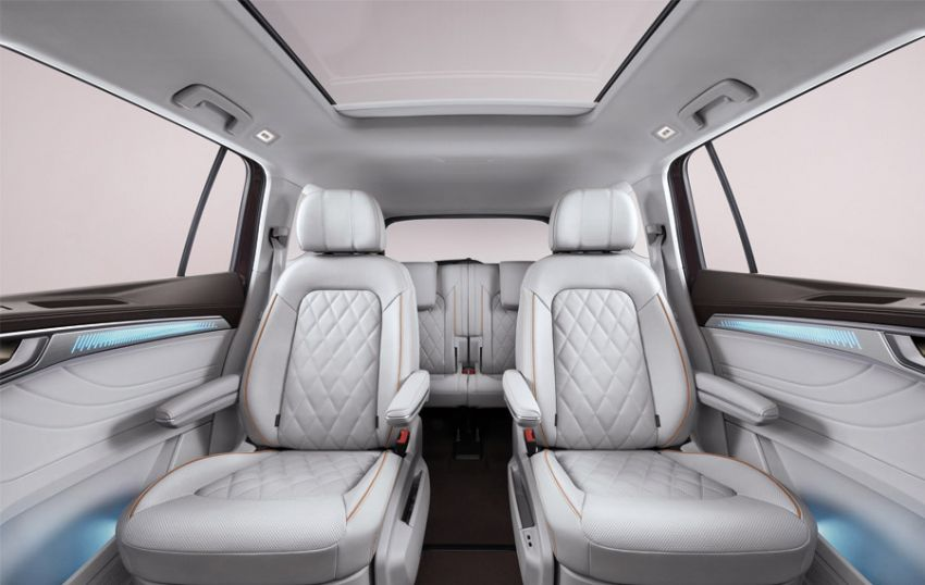 Volkswagen Talagon SUV debuts in China as the brand's largest SUV – over 5.1 metres long; 2.5T V6 Image #1285838