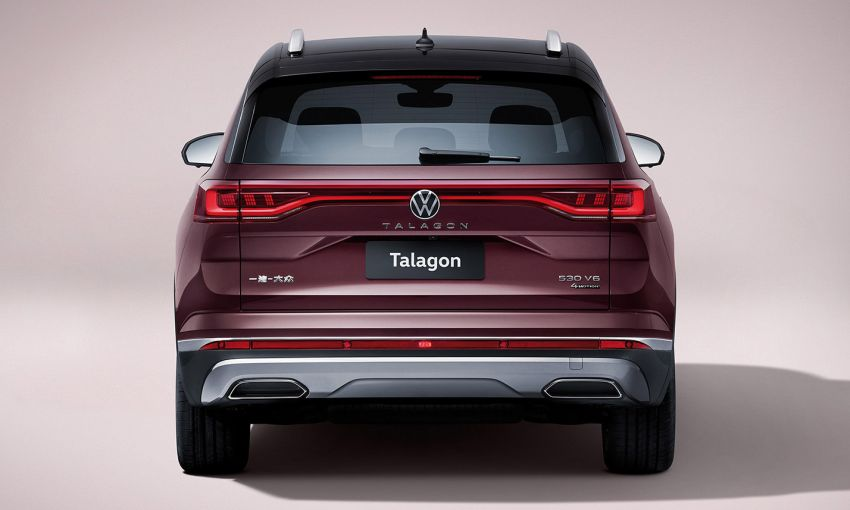 Volkswagen Talagon SUV debuts in China as the brand's largest SUV – over 5.1 metres long; 2.5T V6 Image #1285828