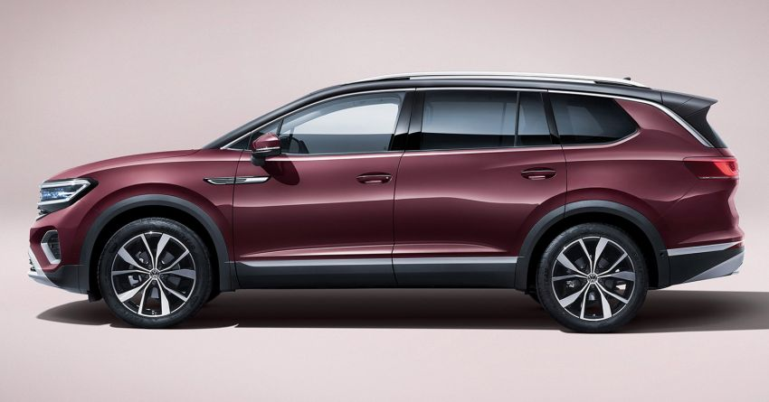 Volkswagen Talagon SUV debuts in China as the brand's largest SUV – over 5.1 metres long; 2.5T V6 Image #1285829