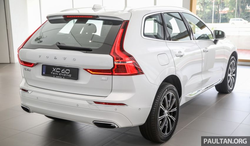 2021 Volvo XC60 in Malaysia – Recharge T8 branding for PHEV, T5 now with Pilot Assist, RM278k to RM325k Image #1287528