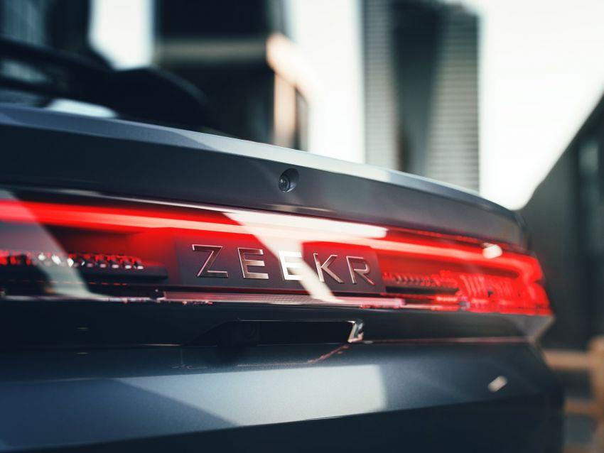 Zeekr 001 revealed – production Lynk & Co Zero EV Image #1272327