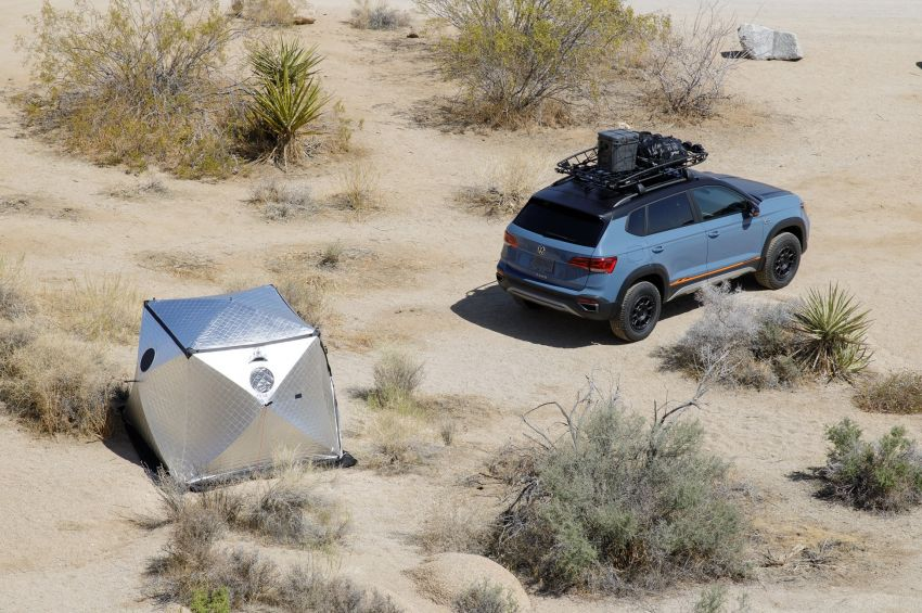 Volkswagen Taos Basecamp Concept – off-roading flair previews future production styling package Image #1296106