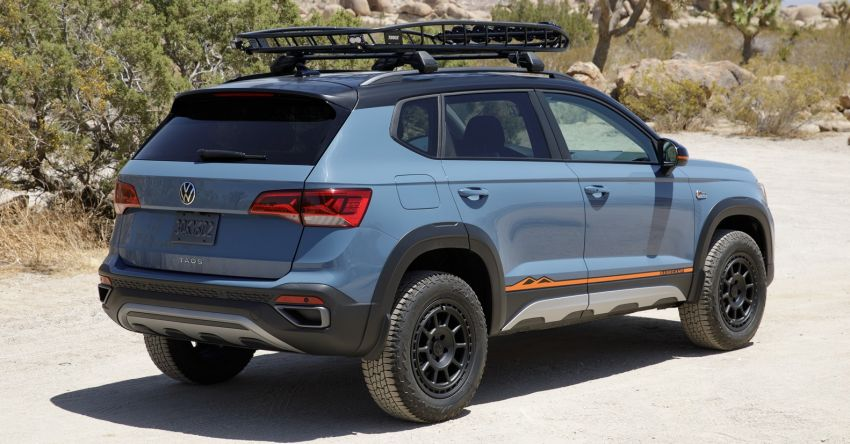 Volkswagen Taos Basecamp Concept – off-roading flair previews future production styling package Image #1296108