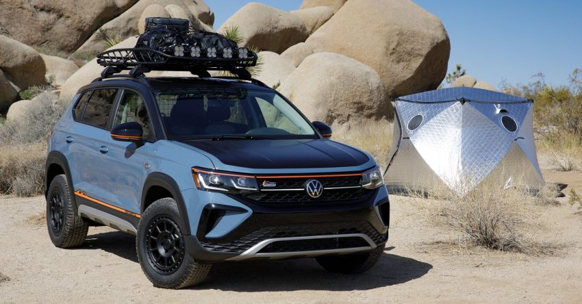 Volkswagen Taos Basecamp Concept – off-roading flair previews future production styling package Image #1296109