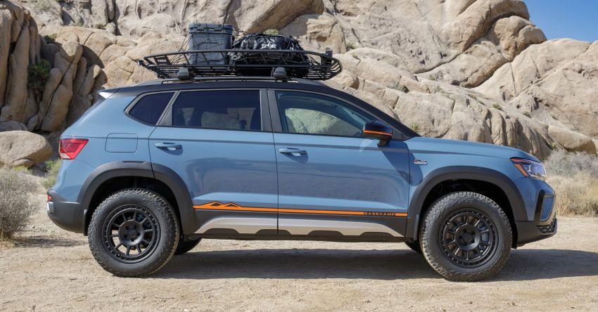 Volkswagen Taos Basecamp Concept – off-roading flair previews future production styling package Image #1296111