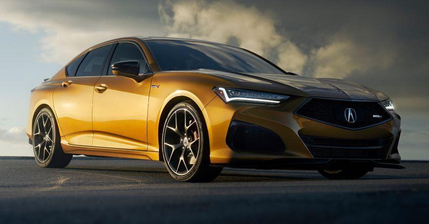 Acura TLX Type S 2021 untuk AS — 355 hp V6 dengan AWD; 0-96 km/j dalam lima saat, harga dari RM216k Image #1297861