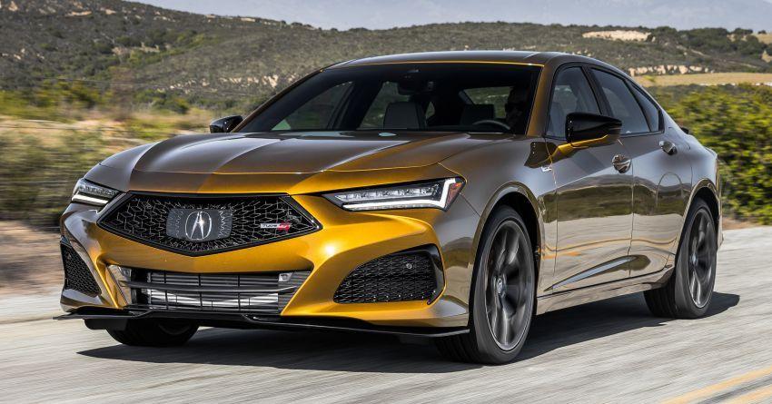 Acura TLX Type S 2021 untuk AS — 355 hp V6 dengan AWD; 0-96 km/j dalam lima saat, harga dari RM216k Image #1297862