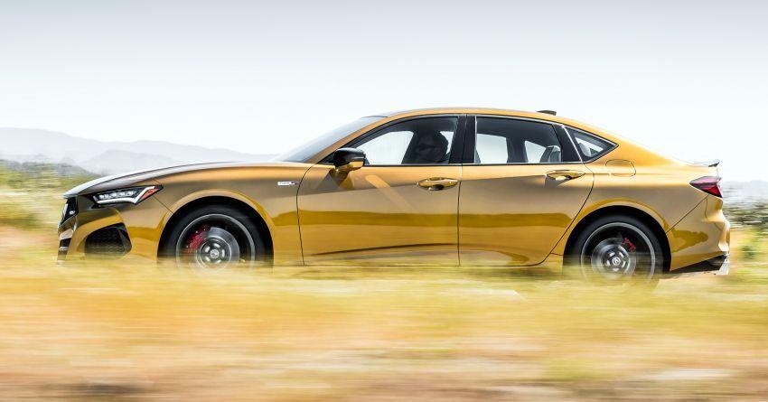 Acura TLX Type S 2021 untuk AS — 355 hp V6 dengan AWD; 0-96 km/j dalam lima saat, harga dari RM216k Image #1297863