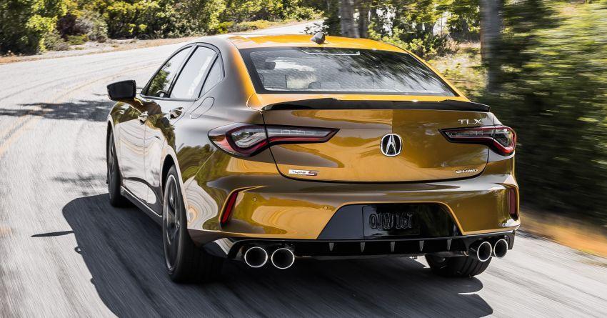 Acura TLX Type S 2021 untuk AS — 355 hp V6 dengan AWD; 0-96 km/j dalam lima saat, harga dari RM216k Image #1297864
