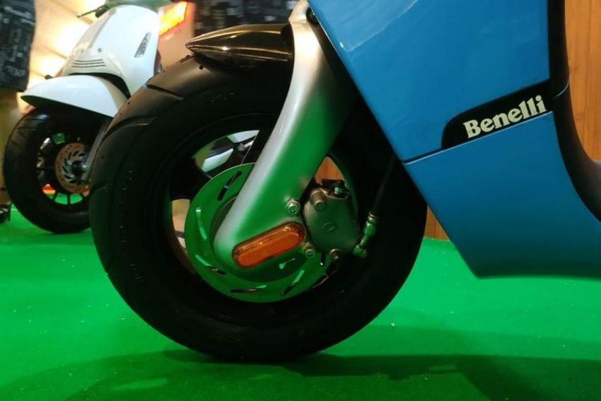 Benelli Dong electric scooter shown at IIMS Indonesia Image #1290578