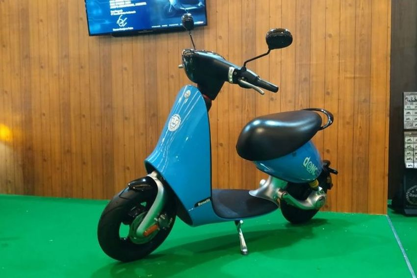 Benelli Dong electric scooter shown at IIMS Indonesia Image #1290577