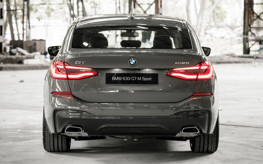 2021 BMW 6 Series Gran Turismo facelift launched in M'sia – G32 LCI remains CKD; 630i GT from RM401k Image #1299608