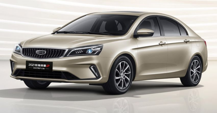 Geely SS11 – fourth-generation Emgrand sedan to be launched in China this year; 1.5L NA with 114 PS Image #1294891