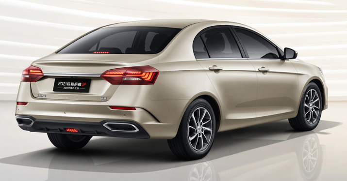 Geely SS11 – fourth-generation Emgrand sedan to be launched in China this year; 1.5L NA with 114 PS Image #1294892