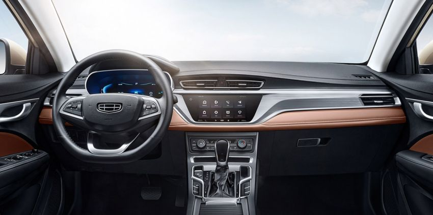 Geely SS11 – fourth-generation Emgrand sedan to be launched in China this year; 1.5L NA with 114 PS Image #1294893