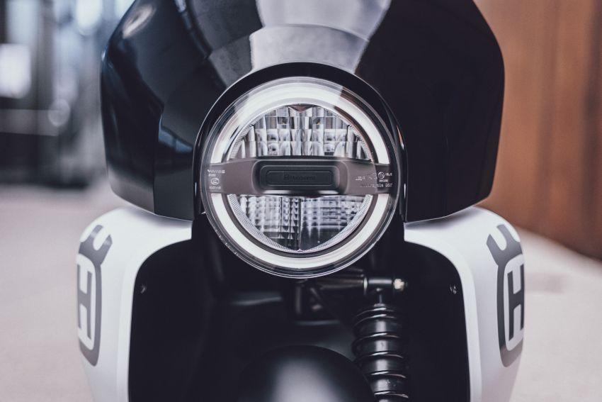 2021 Husqvarna Vektorr Concept e-scooter shown Image #1293188