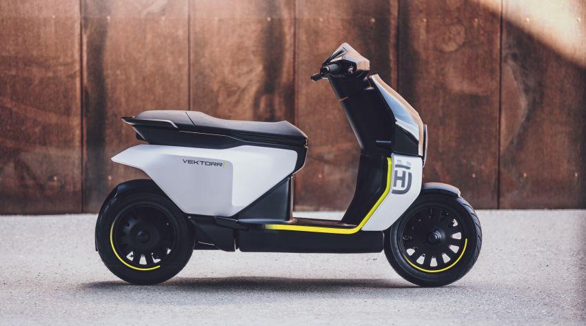2021 Husqvarna Vektorr Concept e-scooter shown Image #1293191