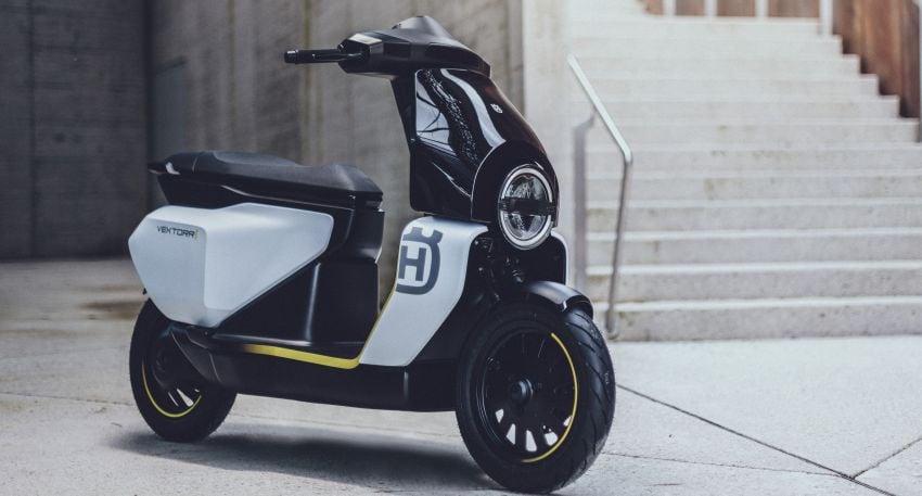 2021 Husqvarna Vektorr Concept e-scooter shown Image #1293192