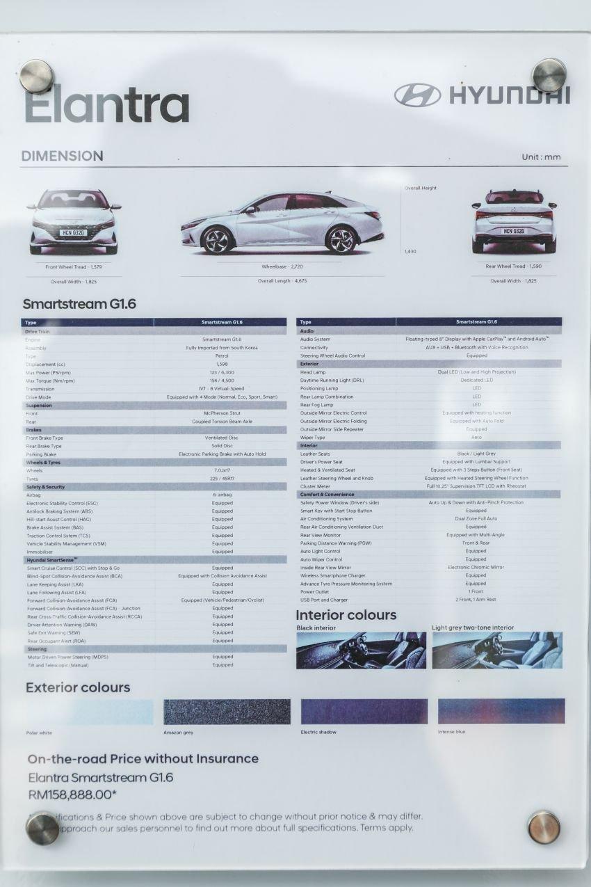 GALLERY: New Hyundai Elantra 1.6 Executive, RM140k Image #1290364