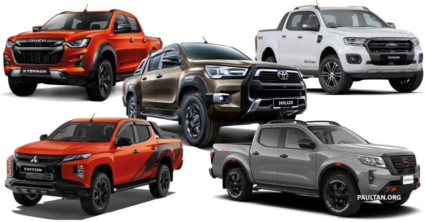 2021 Toyota Hilux vs Isuzu D-Max vs Mitsubishi Triton vs Ford Ranger vs Nissan Navara – pick-ups compared Image #1296152