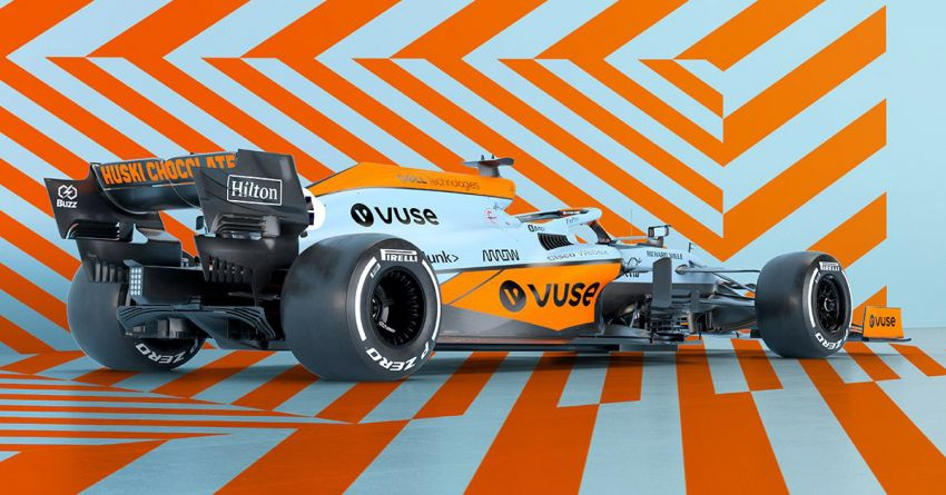 McLaren 720S gets Gulf livery to celebrate partnership Image #1294765