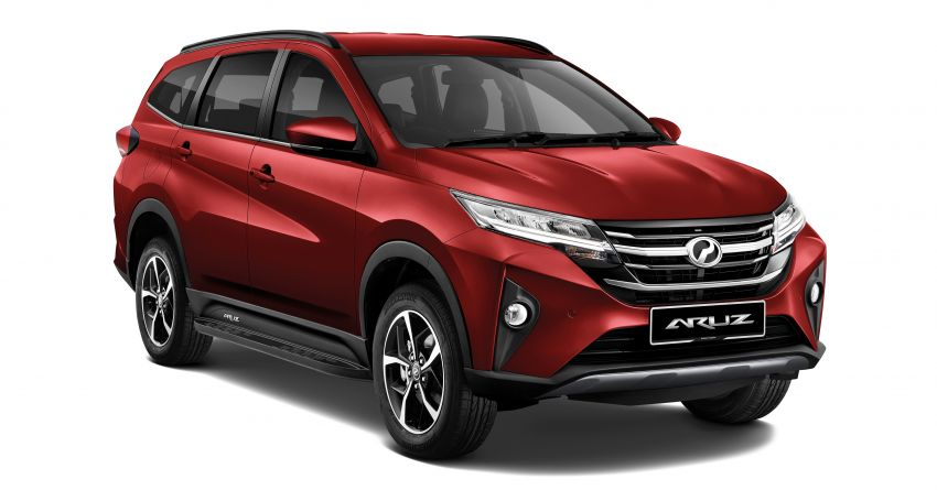 2021 Perodua Aruz launched in Malaysia – new side steps, colour and auto door lock; from RM69k-RM73k Image #1292845