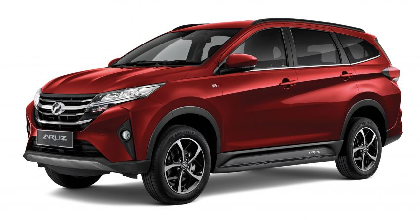 2021 Perodua Aruz officially launched: RM69k-RM73k Image #1292846