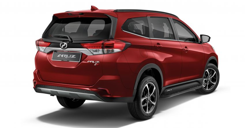 2021 Perodua Aruz officially launched: RM69k-RM73k Image #1292849