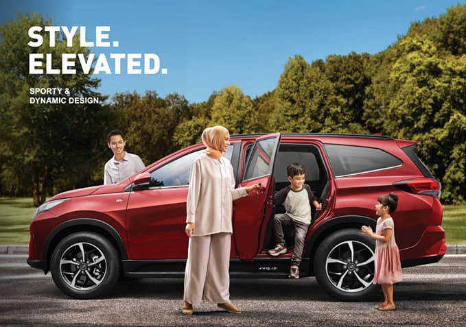 2021 Perodua Aruz – SUV updated with new Passion Red paint, integrated side steps and auto-lock function Image #1292778