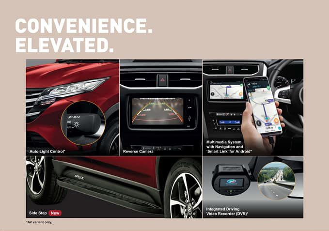 Perodua Aruz 2021 — dikemaskini dengan warna baru Passion Red, pemijak sisi dan fungsi auto-lock Image #1292814
