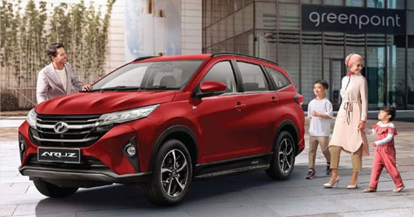 2021 Perodua Aruz – SUV updated with new Passion Red paint, integrated side steps and auto-lock function Image #1292787