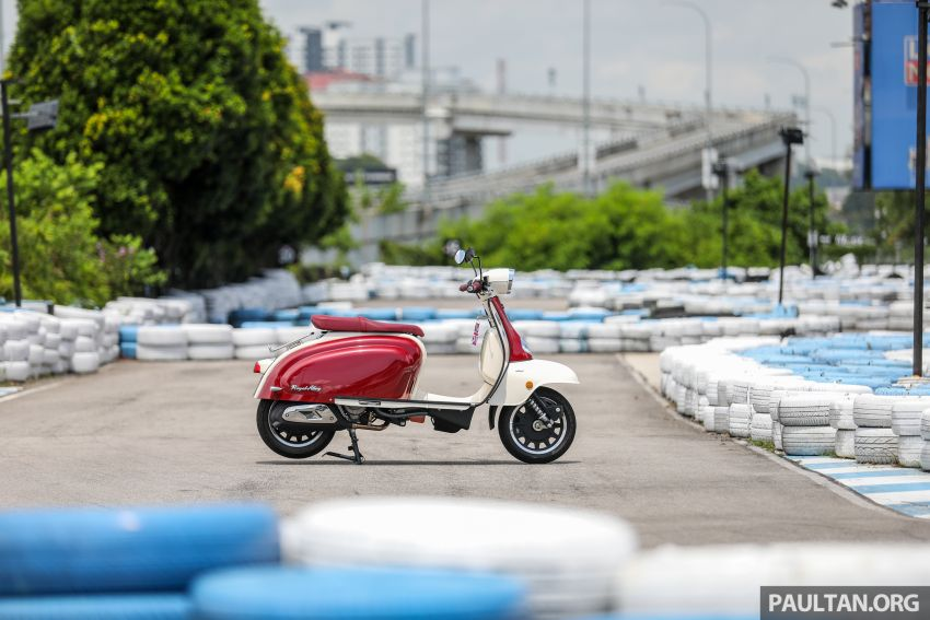 REVIEW: 2021 Royal Alloy TG250 – riding <em>la dolce vita</em>, RM19,800, made in Thailand, all classic scooter style Image #1291844