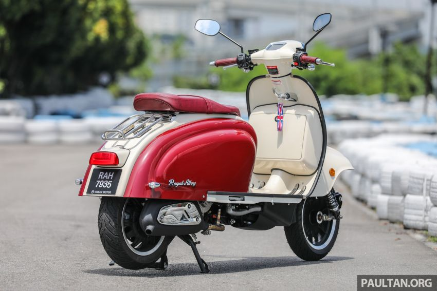 REVIEW: 2021 Royal Alloy TG250 – riding <em>la dolce vita</em>, RM19,800, made in Thailand, all classic scooter style Image #1291853