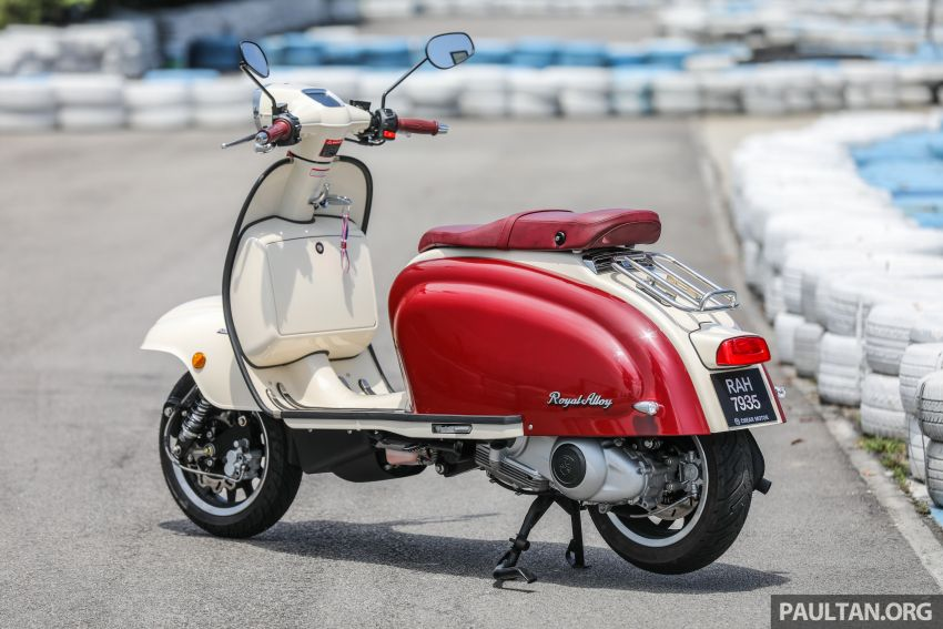 REVIEW: 2021 Royal Alloy TG250 – riding <em>la dolce vita</em>, RM19,800, made in Thailand, all classic scooter style Image #1291854