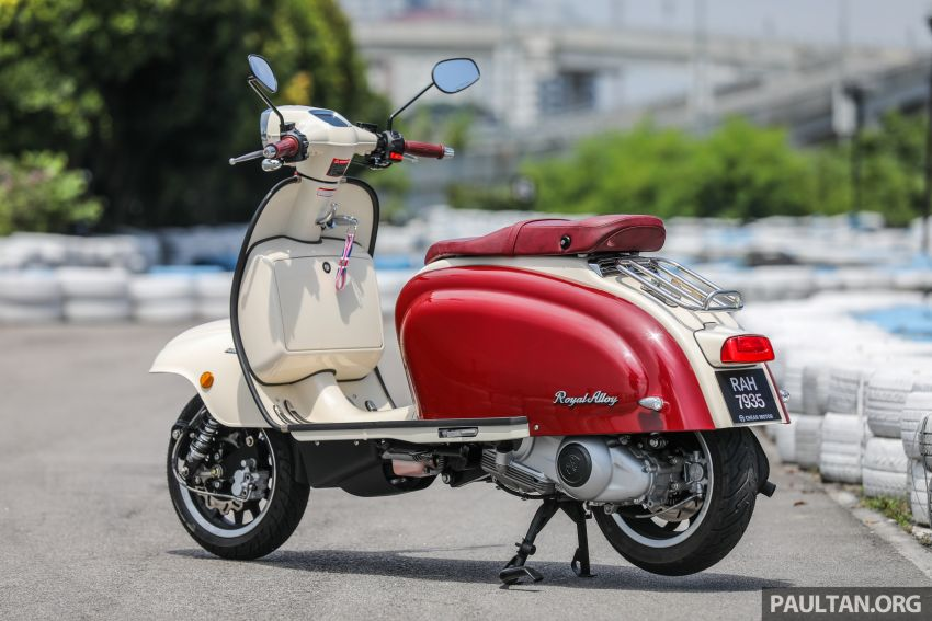 REVIEW: 2021 Royal Alloy TG250 – riding <em>la dolce vita</em>, RM19,800, made in Thailand, all classic scooter style Image #1291855