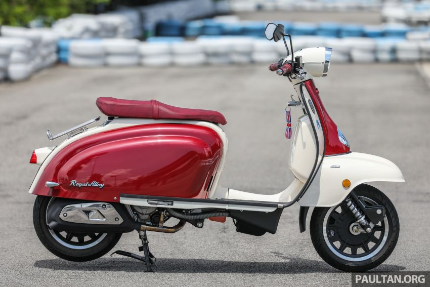 REVIEW: 2021 Royal Alloy TG250 – riding <em>la dolce vita</em>, RM19,800, made in Thailand, all classic scooter style Image #1291856