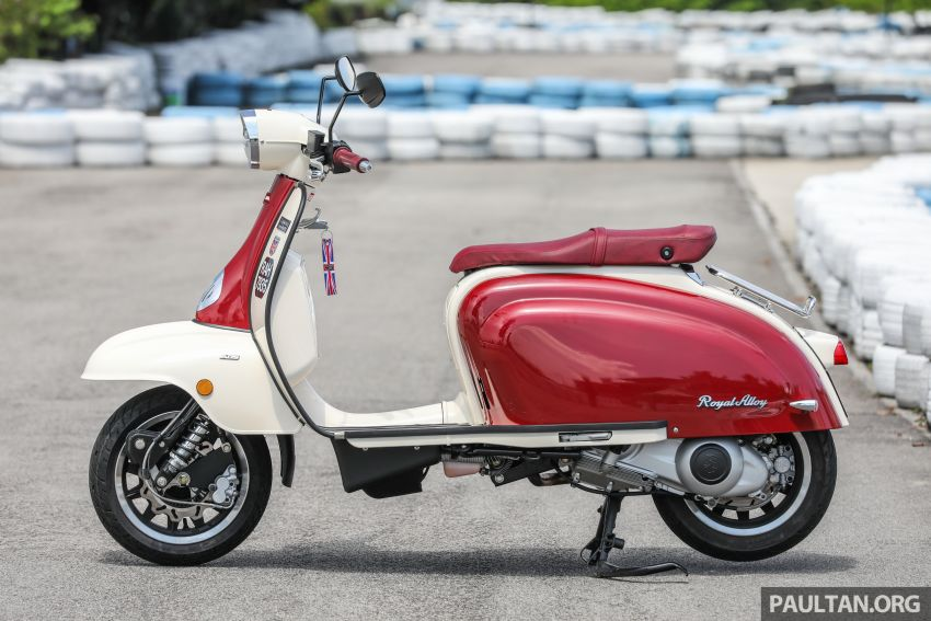 REVIEW: 2021 Royal Alloy TG250 – riding <em>la dolce vita</em>, RM19,800, made in Thailand, all classic scooter style Image #1291858