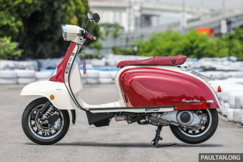 REVIEW: 2021 Royal Alloy TG250 – riding <em>la dolce vita</em>, RM19,800, made in Thailand, all classic scooter style Image #1291859