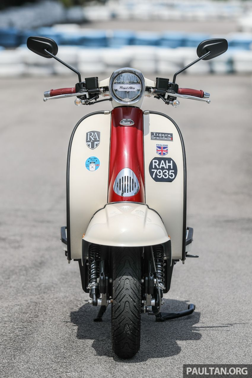 REVIEW: 2021 Royal Alloy TG250 – riding <em>la dolce vita</em>, RM19,800, made in Thailand, all classic scooter style Image #1291860