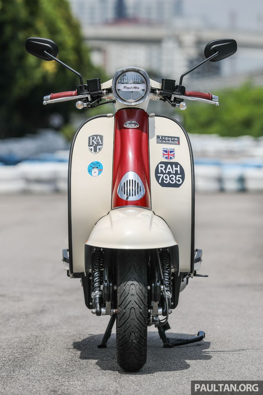 REVIEW: 2021 Royal Alloy TG250 – riding <em>la dolce vita</em>, RM19,800, made in Thailand, all classic scooter style Image #1291861