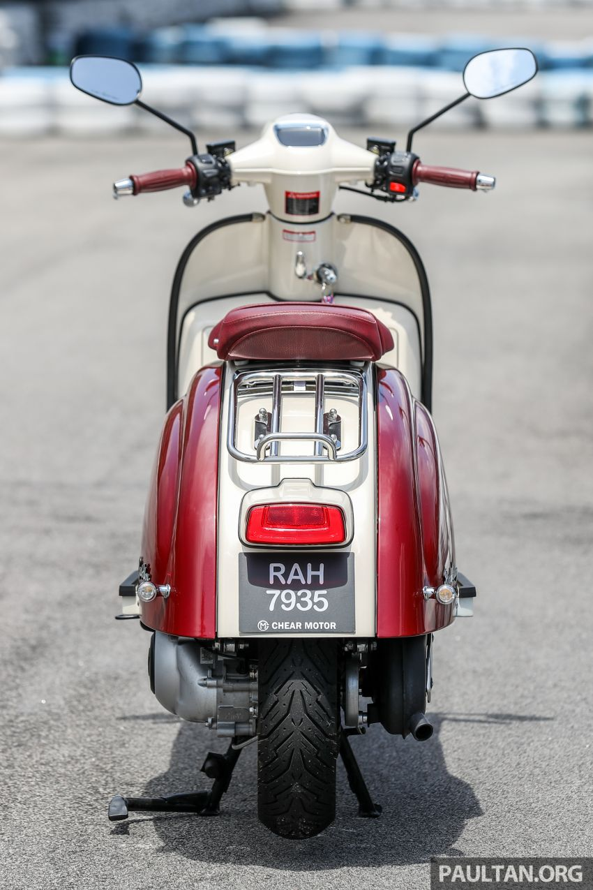 REVIEW: 2021 Royal Alloy TG250 – riding <em>la dolce vita</em>, RM19,800, made in Thailand, all classic scooter style Image #1291862