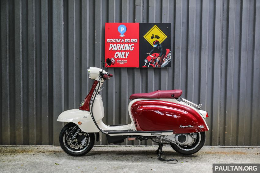 REVIEW: 2021 Royal Alloy TG250 – riding <em>la dolce vita</em>, RM19,800, made in Thailand, all classic scooter style Image #1291845